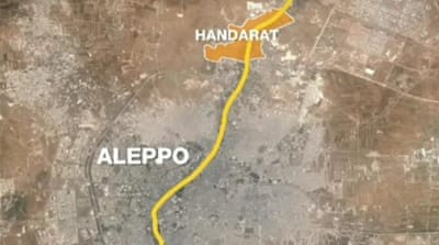 Syrian forces aim to cut off Aleppo rebels