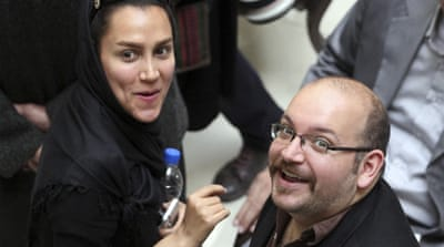 Jason Rezaian and his wife Yeganeh Salehi were detained on July 22 [EPA]