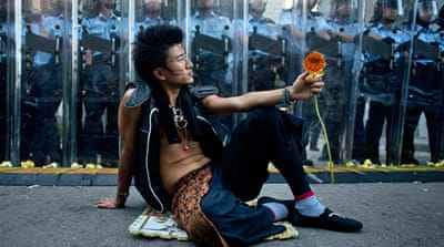 In Pictures: The height of Hong Kong protests