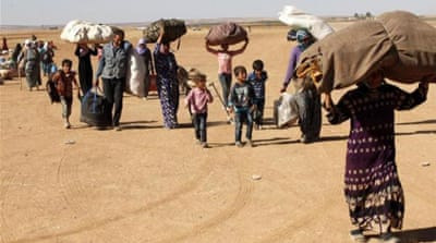 More than three million refugees have fled the country since civil war broke out in 2011 [EPA]