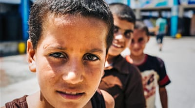 In Pictures: The toll on Gaza's children