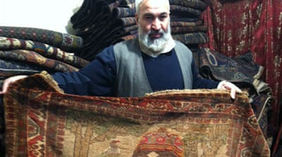 Unravelling the Afghan art of carpet weaving
