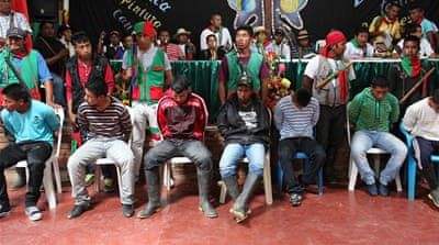 Indigenous Colombia court jails FARC rebels