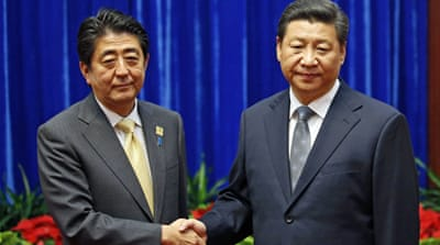 China and Japan leaders hold talks in Beijing