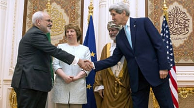 Amid the talks in Oman, Iran announced a deal with Russia to build two reactors in Bushehr [Reuters]