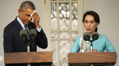 Obama casts doubt on Myanmar reforms
