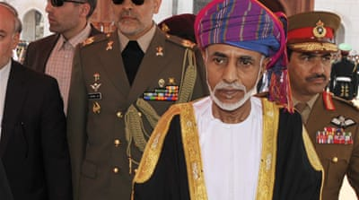 Sultan Qaboos has led Oman since he took over from his father in a bloodless coup in 1970 [AP]
