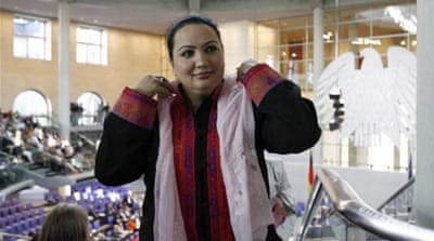 Shukria Barakzai survived a suicide car bomb attack on November 16 [Getty Images]