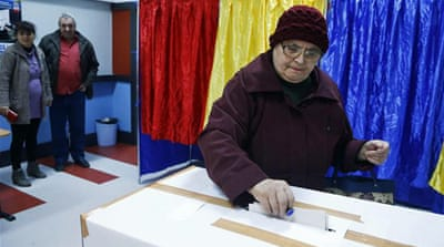 Exit polls suggest that the prime minister will face city mayor in a runoff of a presidential election in November [AP]
