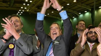 UK anti-EU party wins second parliament seat