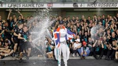 Hamilton has won 11 of the last 19 races [Reuters]