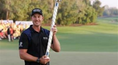 Stenson will move up to second in the rankings [REUTERS]