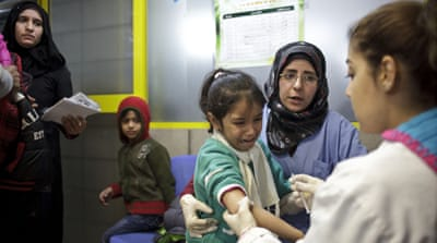 Syria struggles to vaccinate residents