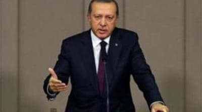 The young boy reportedly criticised Erdogan over corruption claims against his government [Reuters]