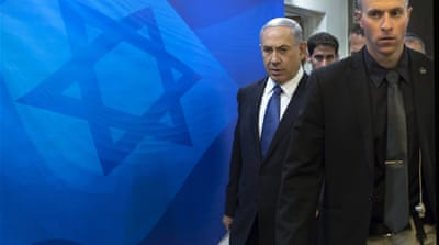 'Only the Jewish people have national rights,' Israeli Prime Minister Benjamin Netanyahu says [Reuters]