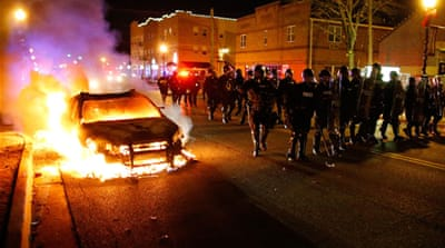 Outrage across US over Ferguson ruling