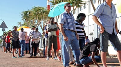 Ruling party favoured in Namibia vote