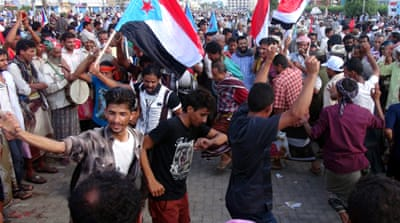 The Al-Orod camp was established after an October pro-secession rally that drew more than 100,000 people [EPA]