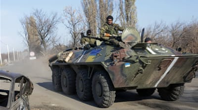Ukraine said tanks and heavy weapons entered eastern Ukraine from Russia this week [EPA]