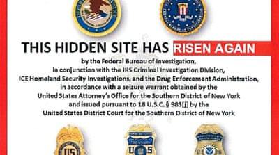 The alleged homepage to Silk Road 2.0, which is the successor website to Silk Road [Reuters]