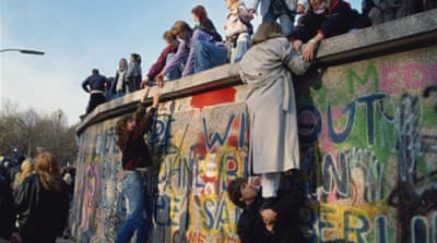 What remains of the Berlin Wall