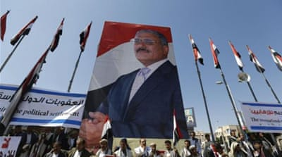 Saleh's party rejects new Yemeni government