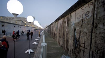 In Pictures: Berlin Wall 25 years later