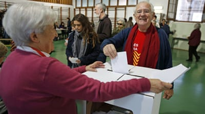 Catalan voters back independence