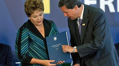 Rousseff was captured in Sao Paolo and reportedly tortured between 1970-1972 [Getty Images]