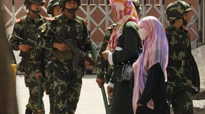 Human rights groups blame Beijing for systematic oppression of ethnic Uighurs [EPA]