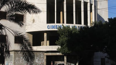 Gaza cinema struggles amid post-war ruins