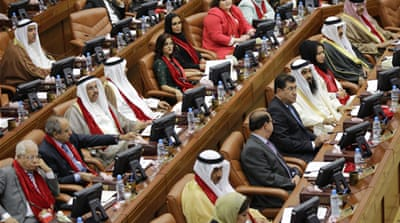 For the first time since 2006, none of the seats will filled by the Shia-led opposition al-Wefaq political society [AP]