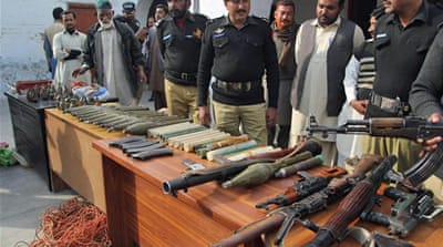 How will Pakistan deal with armed groups?