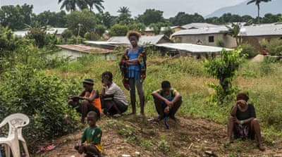 Fatima's family and neighbours rejected her after her parents were infected with Ebola [Tommy Trenchard]