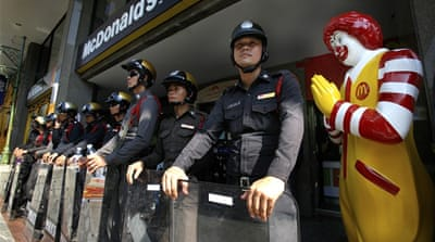 Notorious Thai police and tourist shakedowns