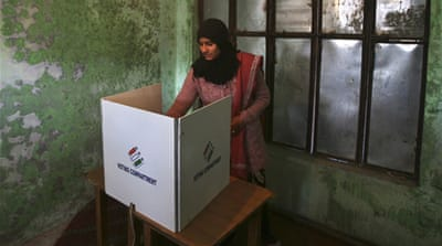 India's ruling party makes Kashmir poll gains