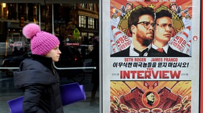 """The Interview,"" a comedy film depicting the assassination of Kim Jong Un, was released this week [Getty Images]"