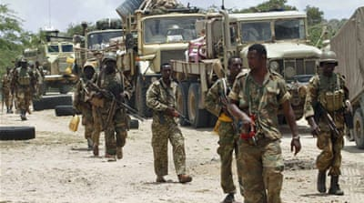 The AMISOM headquarters is located within the high-security compound of Mogadishu airport [AFP]