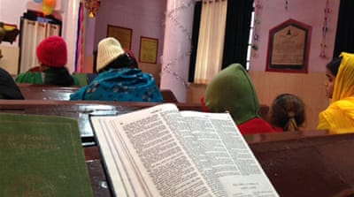 The Dharam Jagran Manch chose December 25 for its act of conversion [Taran N Khan/Al Jazeera]