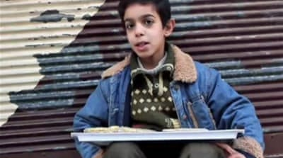 Children bear burden of Syrian war