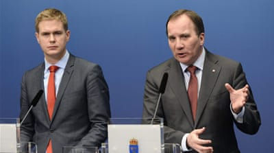 Sweden's prime minister was left with two choices, to resign or call for an early election [AFP]