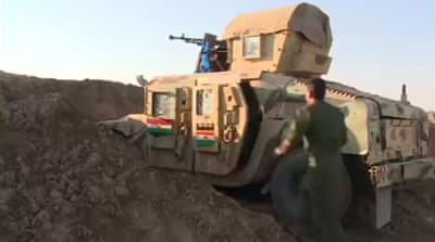 Battles rage for control of Iraq's Kirkuk