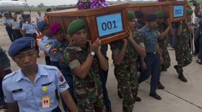Bodies recovered from AirAsia crash site