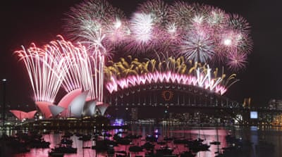 Australia and NZ first to welcome 2015
