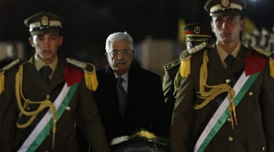 Abbas' image as a hapless, harmless figure seems to be his longevity, writes Nashashibi [AP]