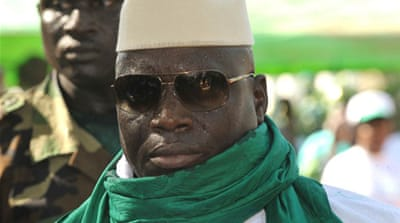 Gambia leader returns after 'coup attempt'