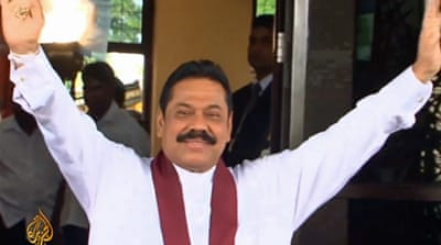 Is Sri Lanka's Mahinda Rajapaksa in trouble?
