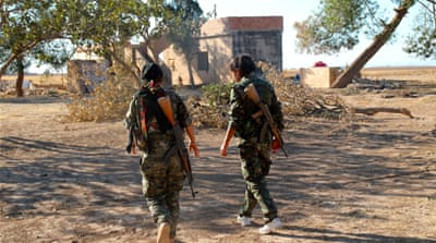 Kurdish child soldiers battle ISIL in Syria