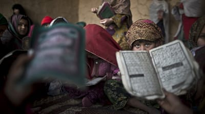 Why the Taliban cherishes old US textbooks
