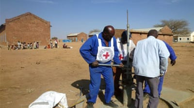 The agency has provided health services, food aid, seeds, tools and hand pumps in Sudan [Red Cross]